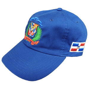 Escudo Republica Dominicana - Dominican Shield Royal/Full Color Dad Hat