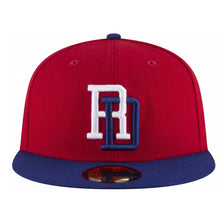 Men's Dominican Republic Baseball New Era 2017 World Baseball Classic Embroidered Patch 59FIFTY Fitted Hat