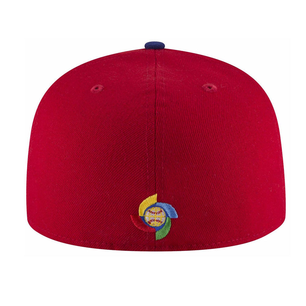 9437cb86a Men's Dominican Republic Baseball New Era 2017 World Baseball Classic  Embroidered Patch 59FIFTY Fitted Hat