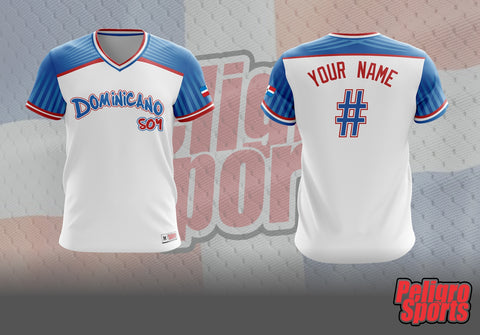 CUSTOM - Dominicano Soy High Quality Fabric Jersey