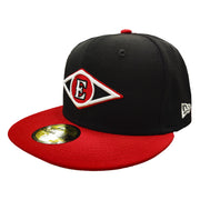 Men's New Leones del Escogido New Era Black-Red Color 59FIFTY Fitted Hat