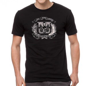 T-Shirt with Dominican Shield design White Shield - Camiseta con Escudo Dominicano