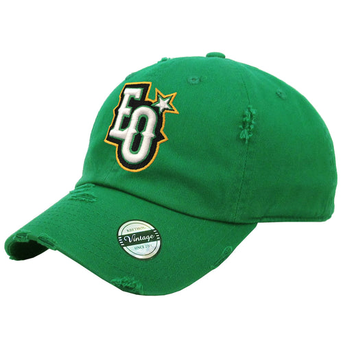 Estrellas Orientales Campeones EO Embroidered Vintage Kelly Green Hat
