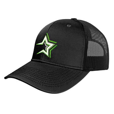 Dominican Baseball Team Caps – Estrellas Orientales – Black Hat and Embroidered Logo