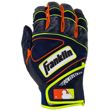 Franklin Power Strap Adult Navy/Orange Batting Glove