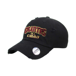 Gigantes del Cibao Embroidered Vintage Black Hat