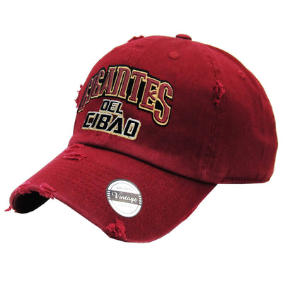 Gigantes del Cibao Embroidered Vintage Marron Hat