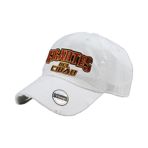 Gigantes del Cibao Embroidered Vintage White Hat