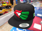 Embroidered Eagle and flag Mexico WIDE logo SnapBack hat