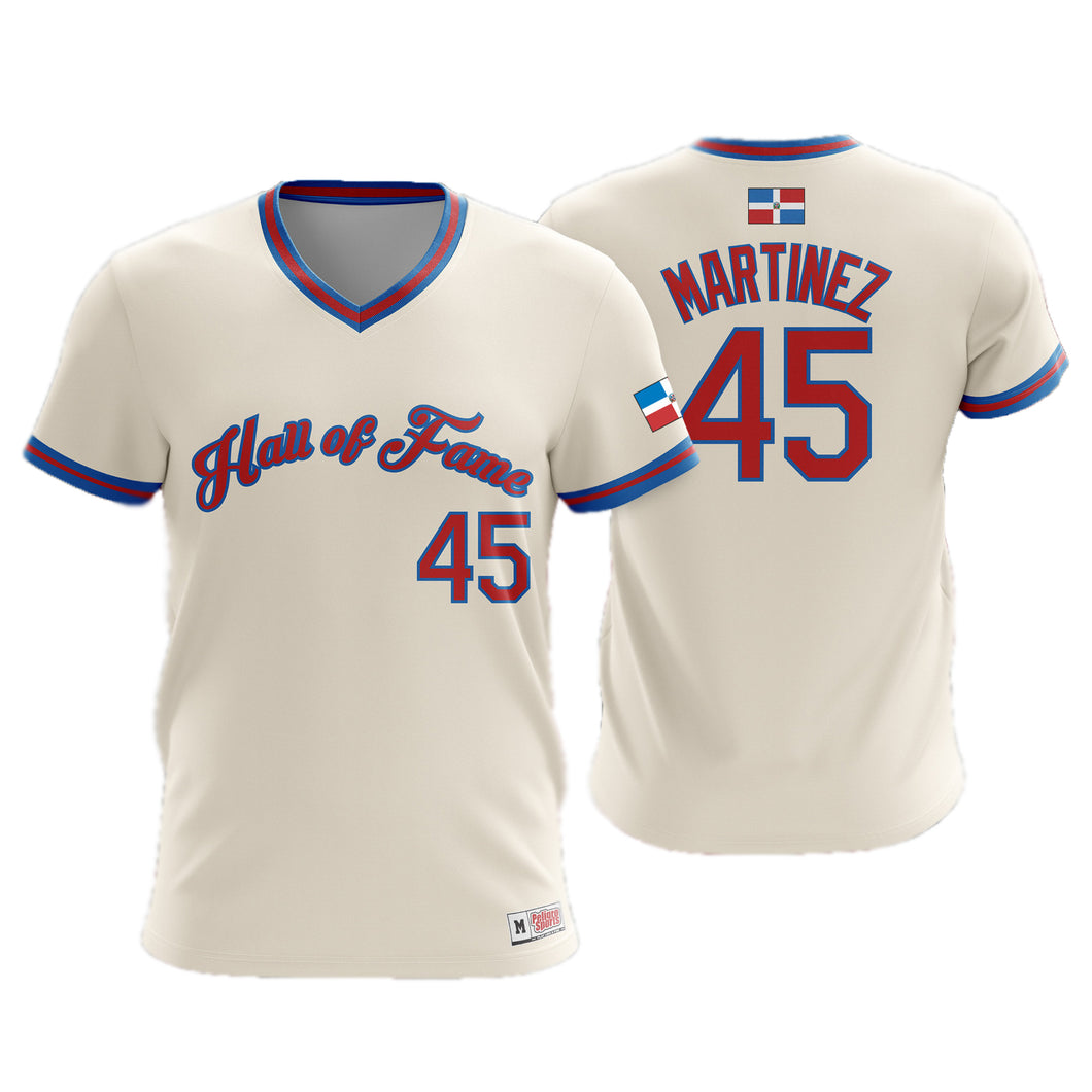 Pedro Martinez Hall of Fame Jersey - Exclusive Edition