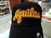 Aguilas Cibaeñas Embroidered Vintage Black/Yellow Aguilas Hat