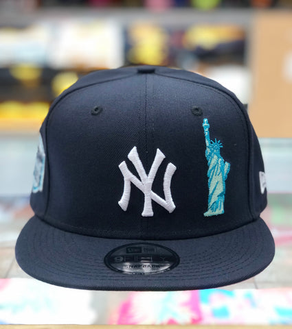 New York Yankee's Statue of Liberty Snapback Hat