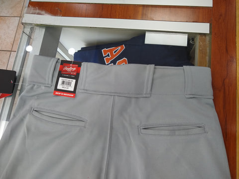 Rawlings Men's Launch Solid Blue Gray Pants