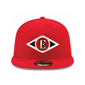 Men's New Leones del Escogido New Era Scarlet Color 59FIFTY Fitted Hat