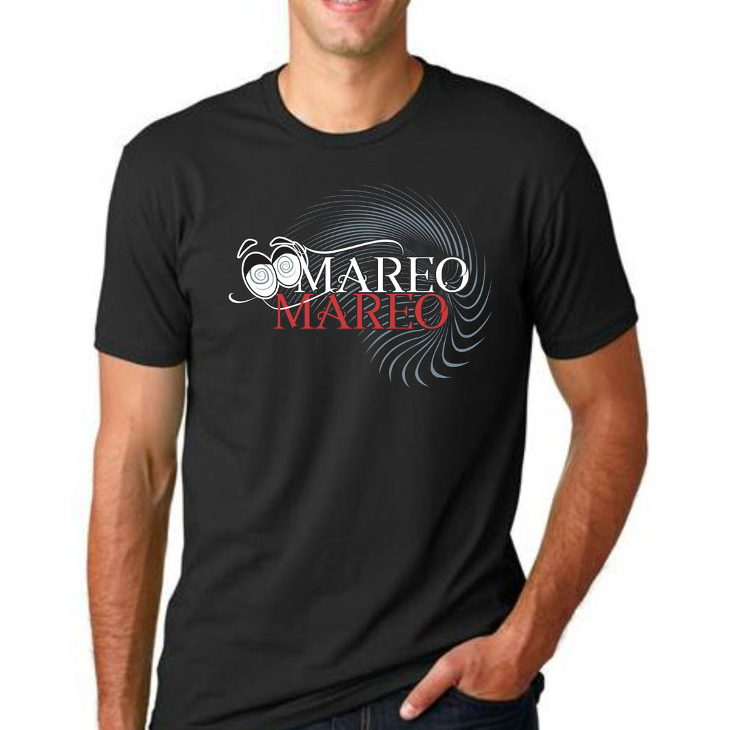 Mareeo Mareeooo High Quality Printed design Black T-Shirt