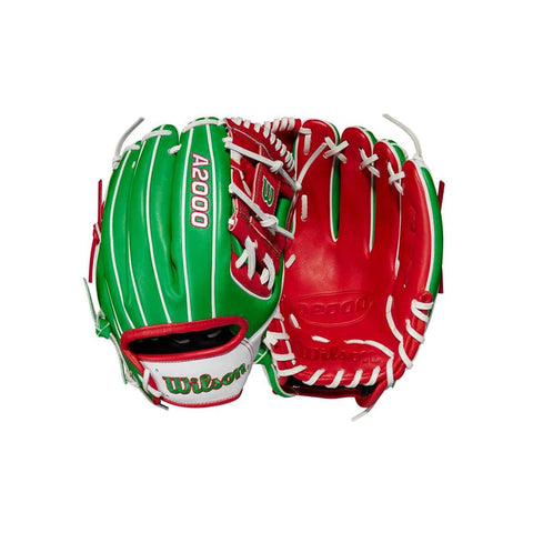 "2021 Wilson A2000 1786 Mexico 11.5"" Infield Baseball Glove - Limited Edition"