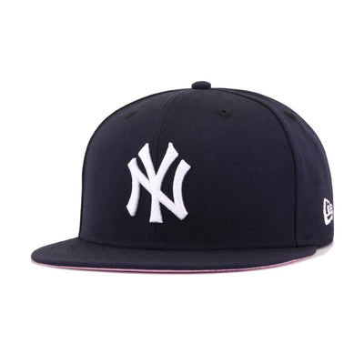 New York Yankees Navy Pink Bottom 1999 World Series New Era 59Fifty Fitted
