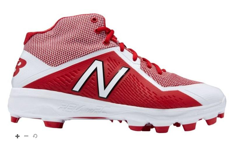 New Balance Mid-Cut TPU 4040v4 Men's Baseball Shoes - (PM4040-V4)