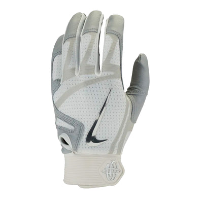 Nike Huarache Elite White/Grey Batting Glove