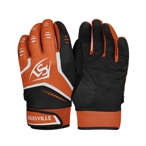 Louisville Slugger Omaha Adult Batting Orange-Black Glove