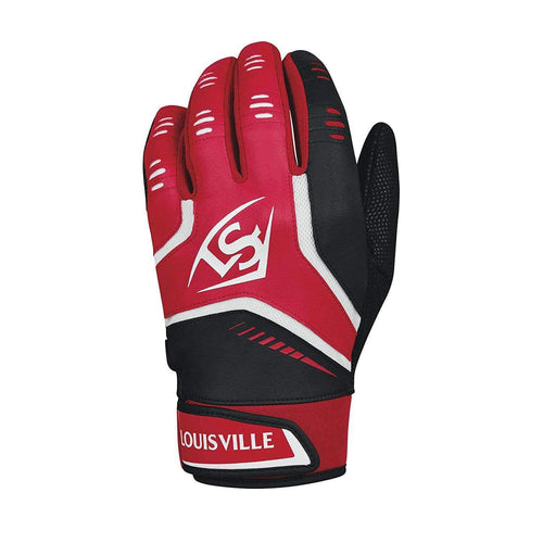 Louisville Slugger Omaha Adult Batting Red-Black Glove