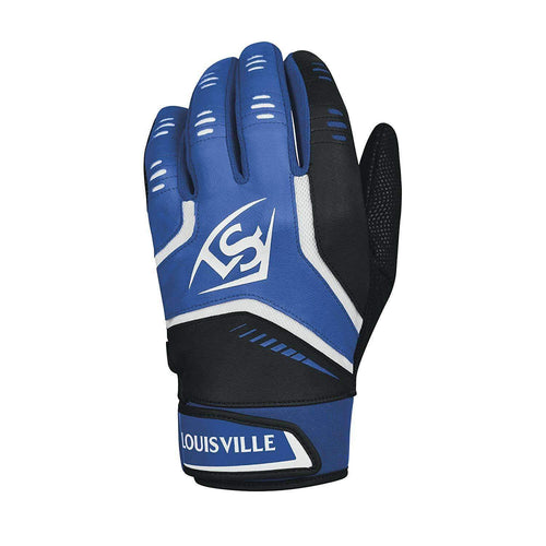 Louisville Slugger Omaha Adult Batting Royal-Black Glove