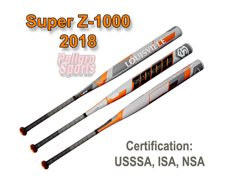 Super Z-1000 End Load Slowpitch softball bat
