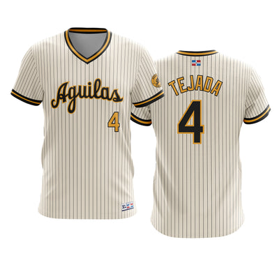 Dominican Hall of Fame - Aguilas Cibaenas - TEJADA 4 - Cream