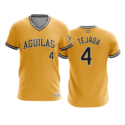 Dominican Hall of Fame - Aguilas Cibaenas - TEJADA 4 - Gold