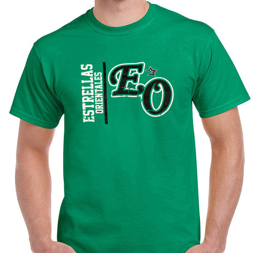 Dominican Baseball Team - Estrellas Orientales Vintage Design Green T-Shirts
