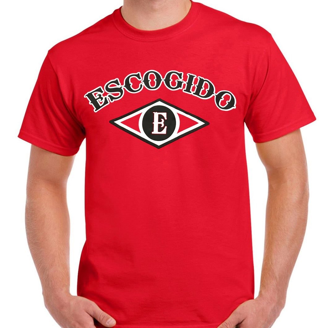 Dominican Baseball Teams - Leones del Escogido Red T-Shirts