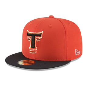 New Era Toros del Este 59Fifty ORANGE/BLACK Hats