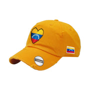 Venezuela Vintage Hats with flag and heart