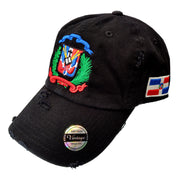 Vintage Adjustable Dominican Shield Hats