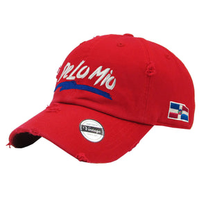 De lo mio embroidered  Logo Vintage Hats
