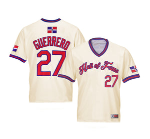 Vladimir Guerrero Hall of Fame Jersey - Exclusive Edition