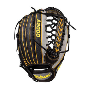 "Wilson Gray 12.25"" 2018 A2000 PF92 Outfielder Right-Hand Throw Baseball Glove"