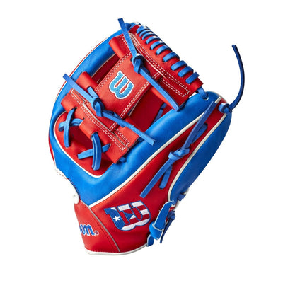 "Wilson A2000 1786 Puerto Rico 11.5"" Infield Baseball Glove - Limited Edition 2021"