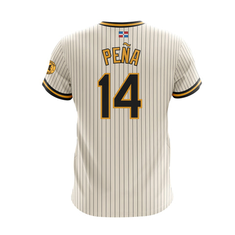 Dominican Hall of Fame - Aguilas Cibaenas - Pena 14 - Cream