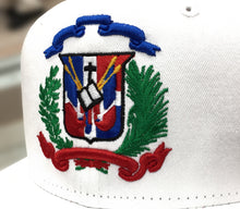 Escudo Republica Dominicana - Dominican Snapback White-Full Color Hat