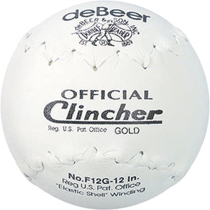 "Debeer Clincher Gold Softball 12"" - peligrosportsnyc"