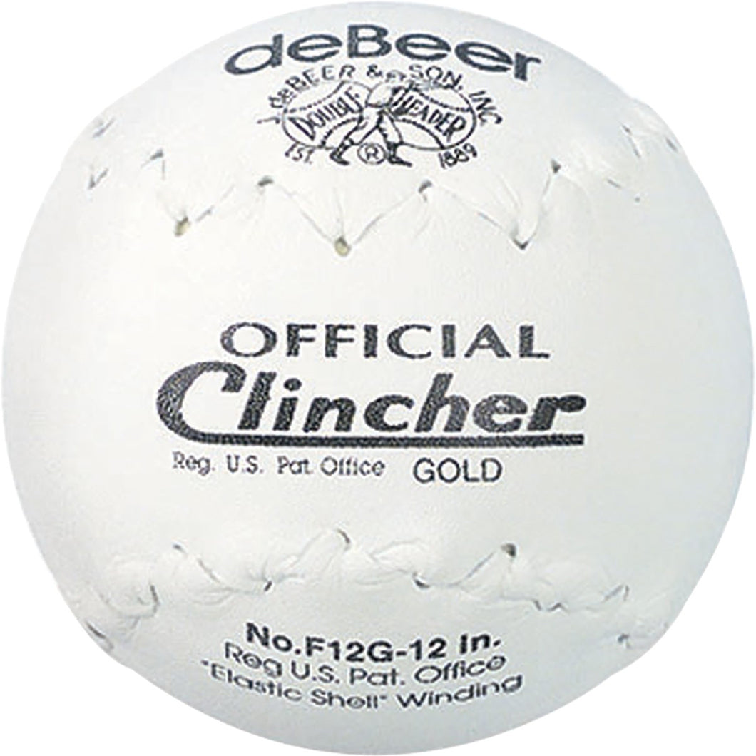 Debeer Clincher Gold Softball 12