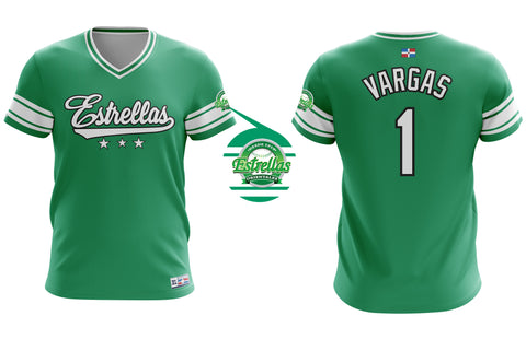 Dominican Hall of Fame - Estrellas Orientales - Vargas 1 - Green