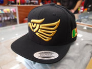 Embroidered Eagle and flag Mexico SLIM LOGO SnapBack hat