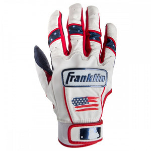Franklin CFX Chrome 4th of July Men's Batting Gloves