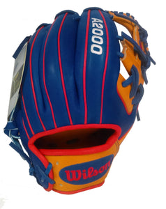 "Wilson A2000 PeligroSports 2017 Edition 11.5"" InField Right Hand Throw Glove - peligrosportsnyc"