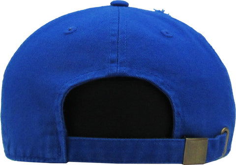 Tigres del Licey Vintage Royal Blue with initial L Hats