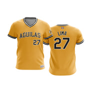 Dominican Hall of Fame - Aguilas Cibaenas - Lima 27 - Gold