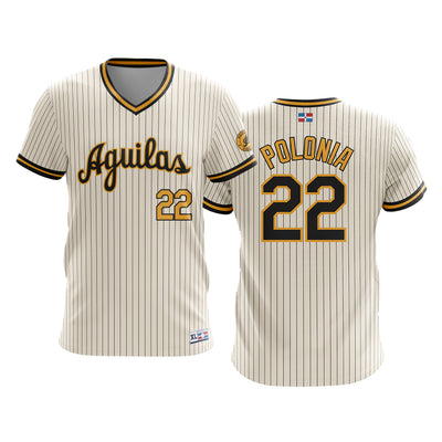 Dominican Hall of Fame - Aguilas Cibaenas - POLONIA 22 - Cream