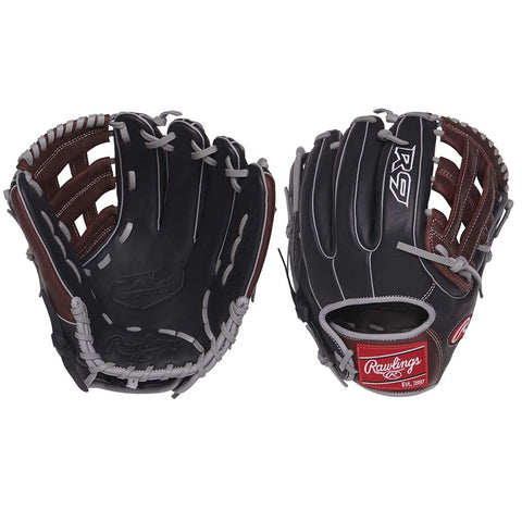 "Rawlings 11.75"" R9 Infield Pitcher Baseball Glove R9315-6BSG-3"